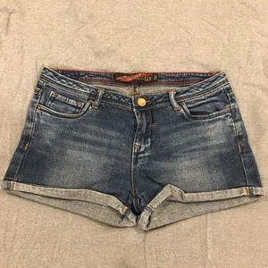 ZARA denim shorts, size 26 (US 4).